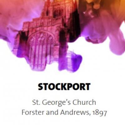 STOCKPORT: Eglise St GEORGES /  ECHANTILLONS