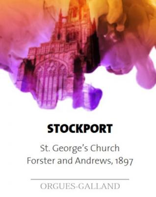 STOCKPORT: Eglise St GEORGES /  ECHANTILLONS