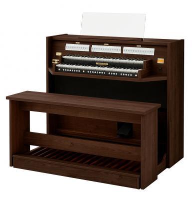 STUDIO 150 JOHANNUS  orgue d'étude 2 claviers - Mélamine Wenge