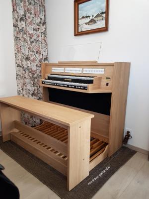 STUDIO 150 JOHANNUS  orgue d'étude 2 claviers en 36 mensualités de 149,95€