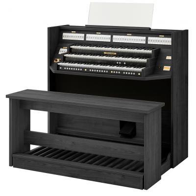 STUDIO 350 JOHANNUS  orgue d'étude 3 claviers - Mélamine Black north