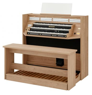 STUDIO 350 JOHANNUS  orgue d'étude 3 claviers - Mélamine Light riverside