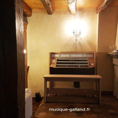 STUDIO 350 JOHANNUS  orgue d'étude 3 claviers - Mélamine Light riverside