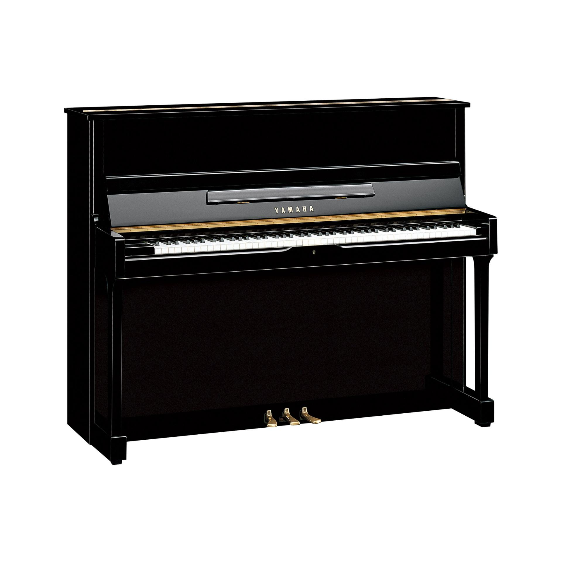 piano droit yamaha mod le su 118 c artisanal noir brillant. Black Bedroom Furniture Sets. Home Design Ideas