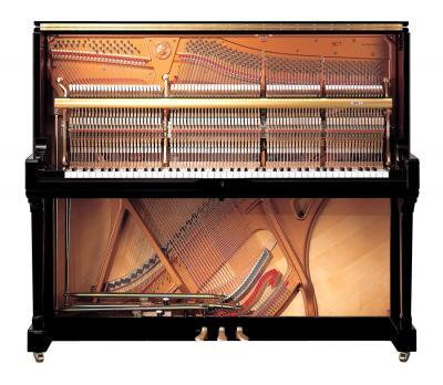 YAMAHA SE-132 SH2 Silent piano droit CONCERT noir brillant 132 cm