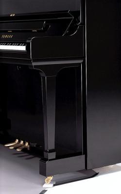YAMAHA SU-7 piano droit de CONCERT noir brillant 131 cm