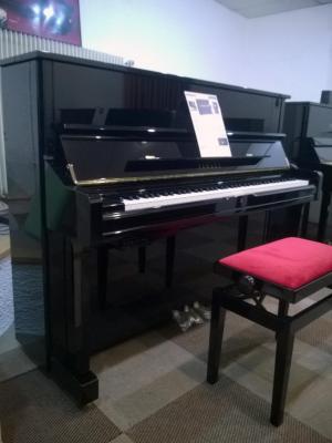 YAMAHA piano droit U1Q-SH-PE  121 cm avec SILENT finition noir brillant