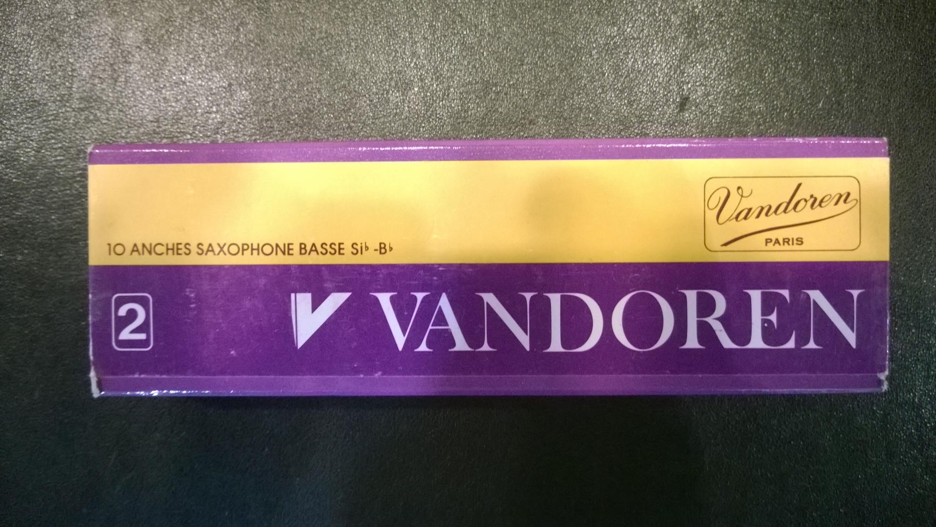 Vandoren saxo basse sib 2
