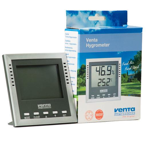 Venta hygrometer with box