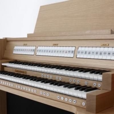 VIVALDI 150 JOHANNUS orgue de salon + finition chêne clair