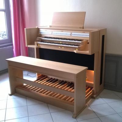 VIVALDI 250 JOHANNUS orgue de salon + finition chêne clair