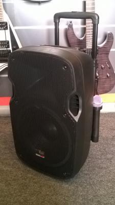 PAX 12WL  Station sono complète sur batterie : micro radio lecteur MP3