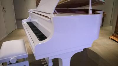 YAMAHA C1X-PWH piano à queue gamme conservatoire 161 cm blanc