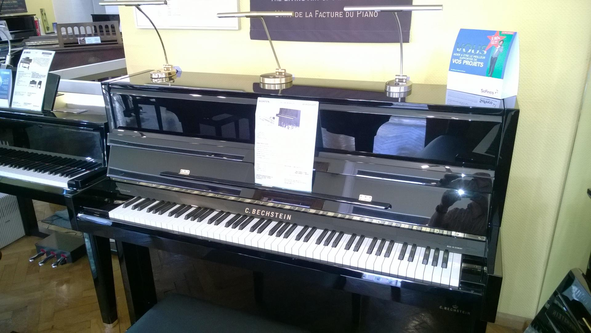 piano droit c bechstein b 116km millenium r sidence concert. Black Bedroom Furniture Sets. Home Design Ideas