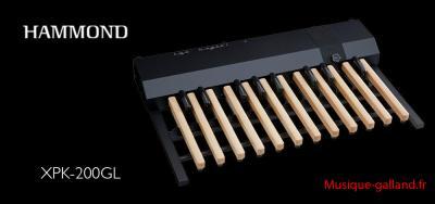 Pédalier portable HAMMOND modèle XPK-200GL - 20 notes