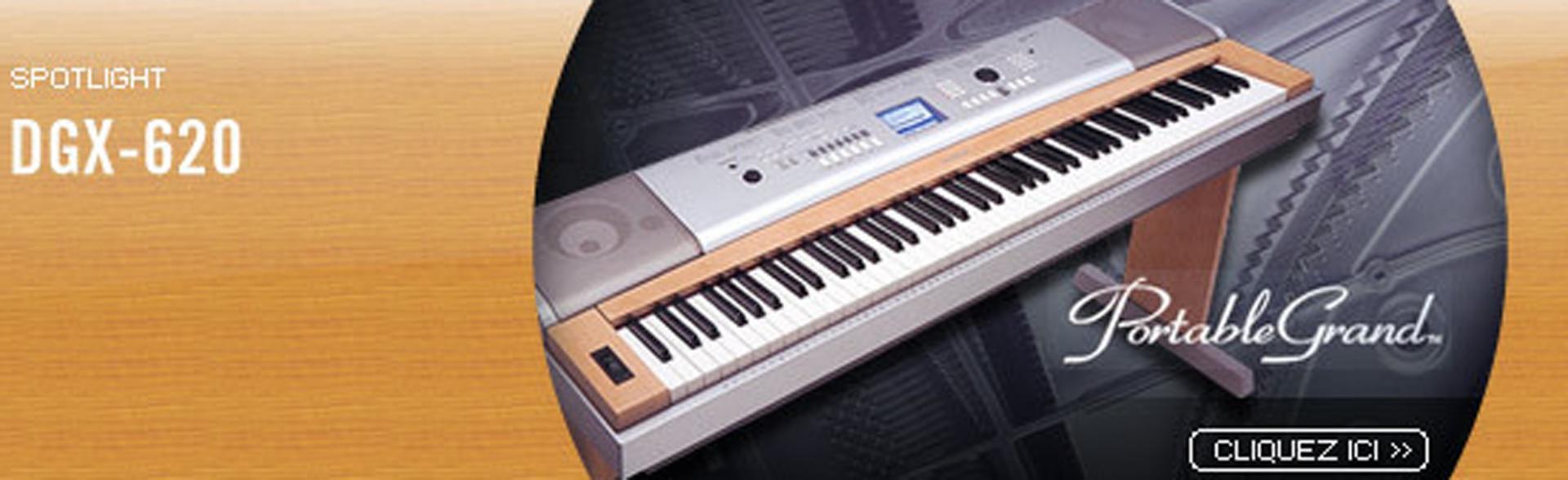 Yamaha dgx 620
