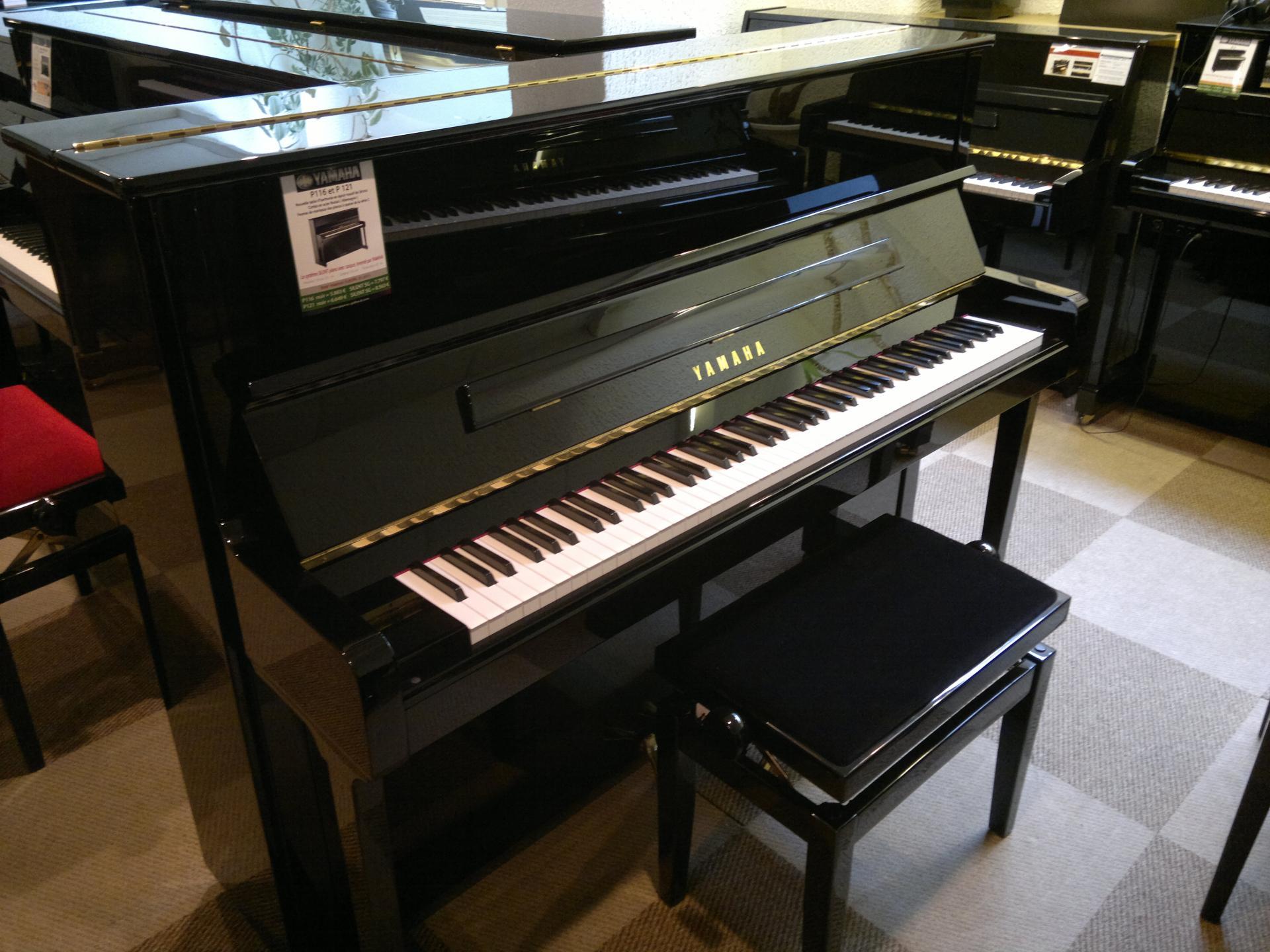 Yamaha p 121 noir