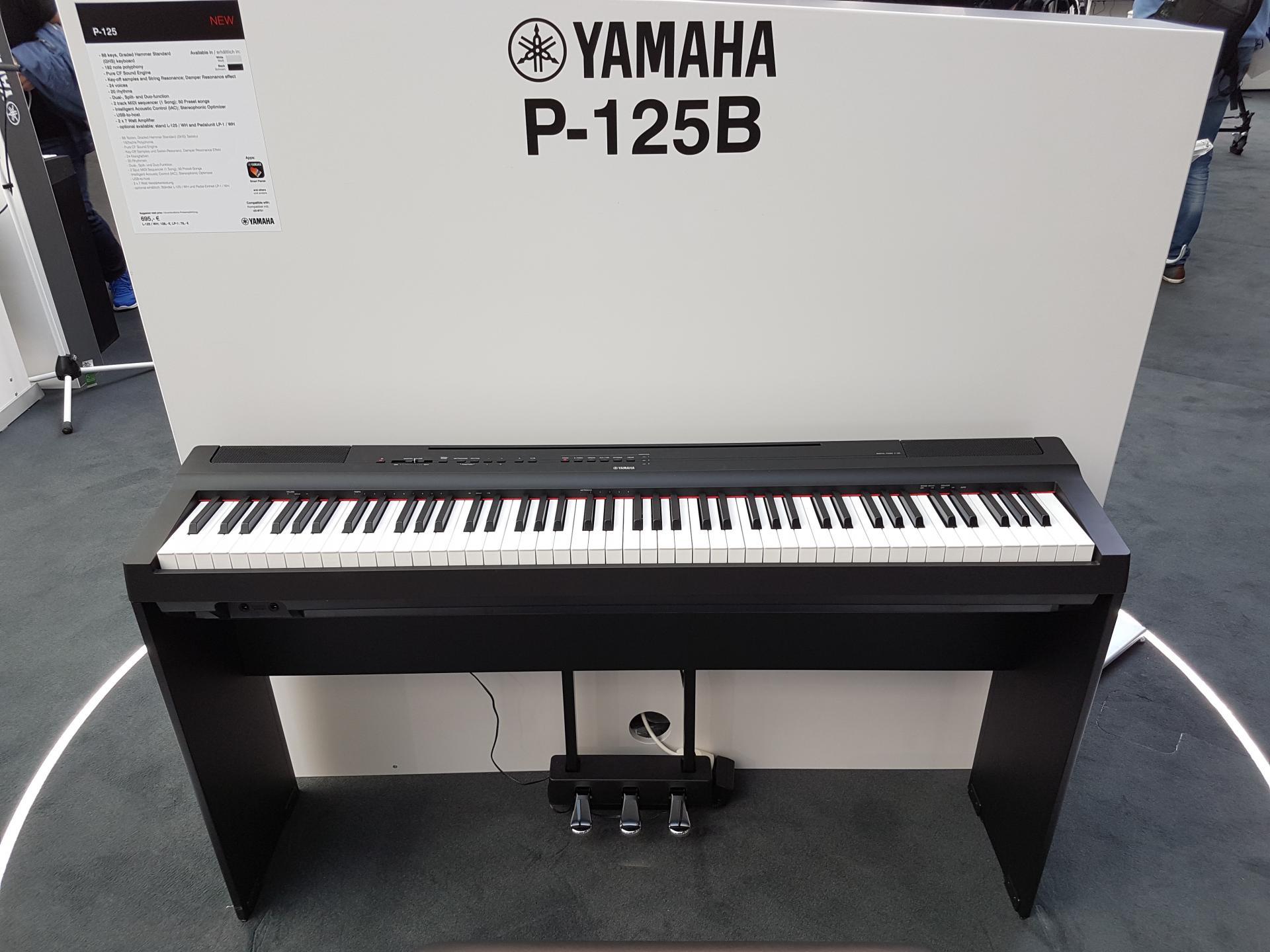Yamaha p125 face 2