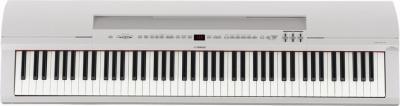 YAMAHA P255-WH clavier piano portable en blanc satiné