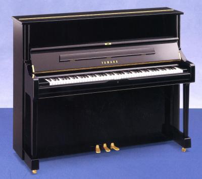 YAMAHA U1Q-PE  piano droit noir brillant Conservatoire 121 cm