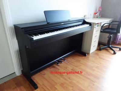 LOCATION-TEST d'un piano numérique neuf YAMAHA ARIUS YDP-164-B à clavier GH3X