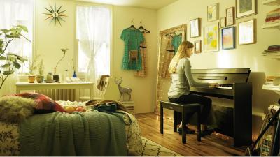 YAMAHA YDPS34-B ARIUS  piano numérique noyer noir