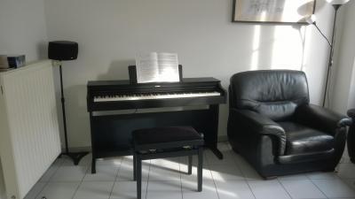 LOCATION-TEST d'un piano numérique YAMAHA ARIUS YDP-143-B