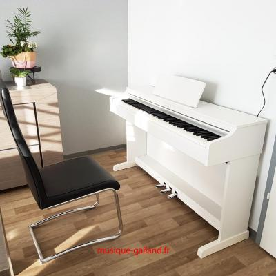 LOCATION d'un piano numérique neuf YAMAHA ARIUS YDP-164-WH blanc