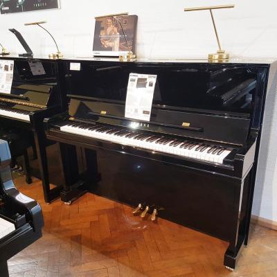 Piano neuf YAMAHA YUS1-PE-NOIR 121cm-CONCERT (Disponible)