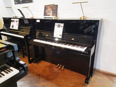 YAMAHA piano droit YUS1-PE 121 cm CONCERT finition noir brillant